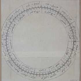 Астрономическая карта, составленная Каюмом Насыри.