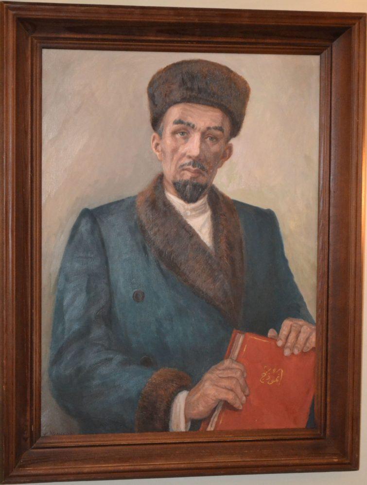 З. Гимаев. Портрет К.Насыри. 2001 г.