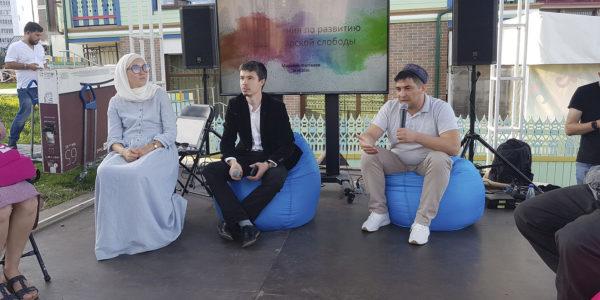 Музей К.Насыри принял участие в дискуссии по развитию Новотатарской слободы
