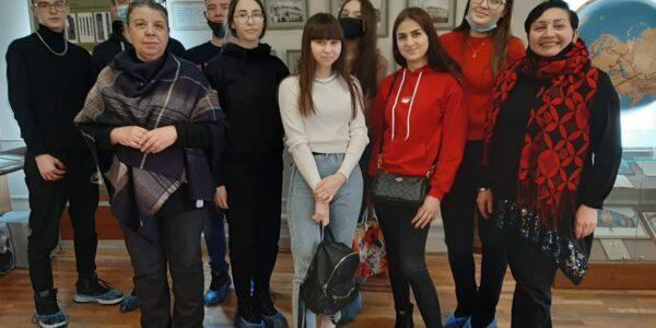 Экскурсия студентов 1 курса Российского казанского института кооперации